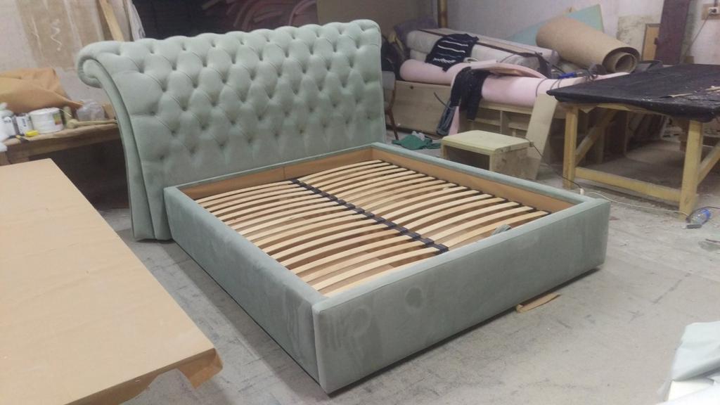 Двоспальне ліжко Честерфілд 11