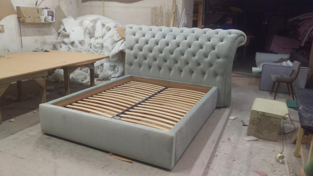 Двоспальне ліжко Честерфілд 4