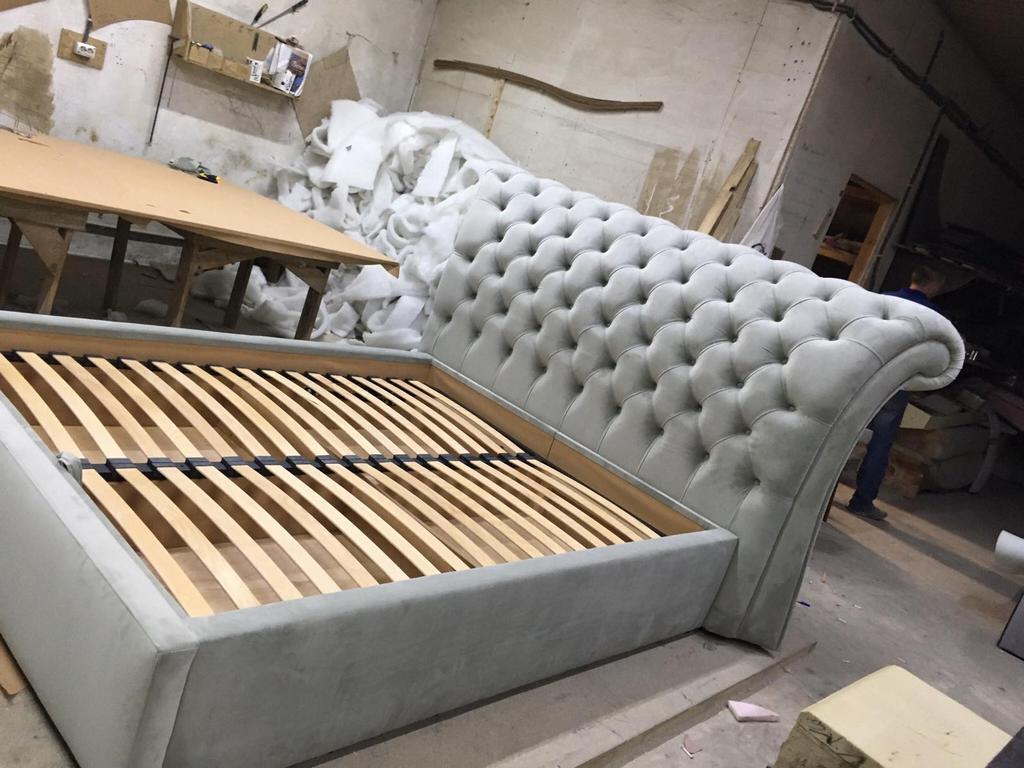 Двоспальне ліжко Честерфілд 14