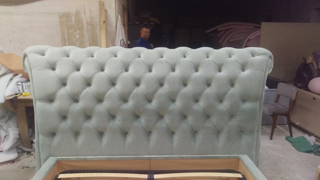 Двоспальне ліжко Честерфілд 8