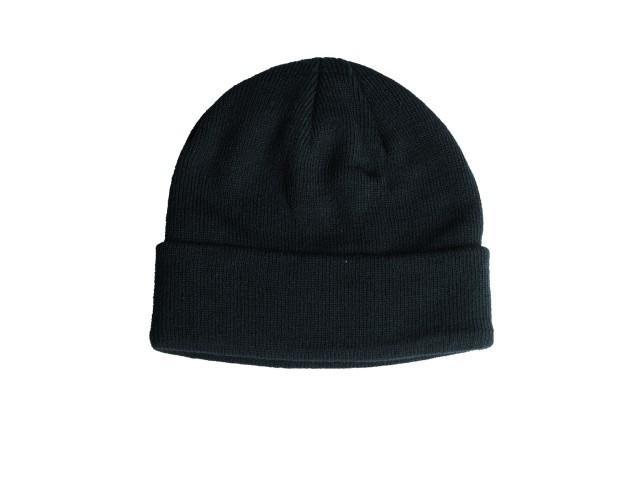 Вязаная акриловая шапка MilTec Black 12133002