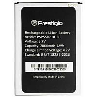 ✅Аккумулятор Prestigio PSP5502, PSP3506, PSP3507, PSP3508, PSP3517, PSP3527 DUO (2000 mAh)