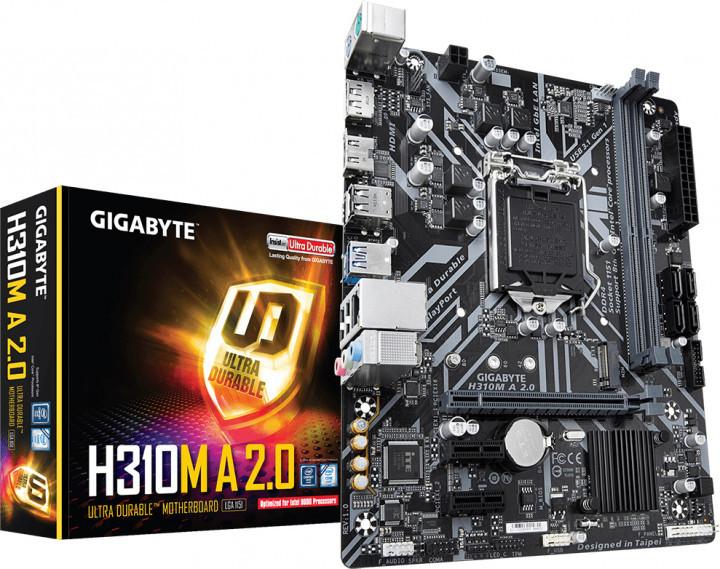 Материнская плата Gigabyte H310M A 2.0
