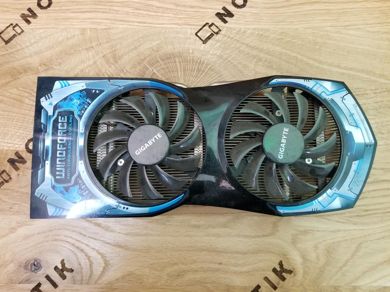Система охолодження для відеокарти NVidia GTX 550 Ti