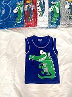 """Майка дитяча для хлопчика """"Крокодил"""" 1-4 роки, колір уточнюйте при замовленні"""