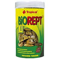 Сухий корм для сухопутних черепах Tropical в паличках «Biorept L» 250 мл