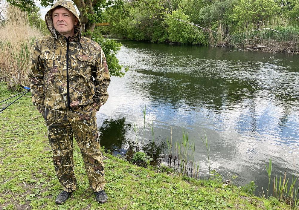 """Костюм для рыбалки и охоты Mavens """"Камыш"""", одежда камуфляж, размеры 46-60"""