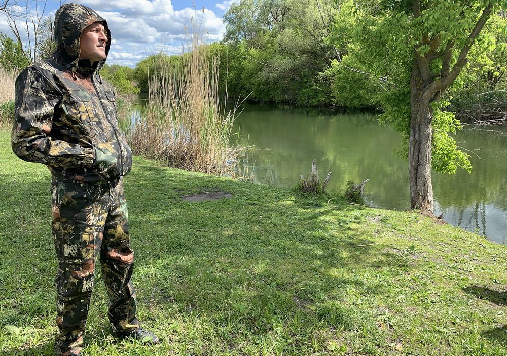 """Костюм для риболовлі та полювання Mavens """"Дуб Європейський"""", камуфляж, розміри 46-60 (014-0008)"""
