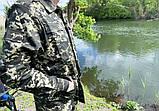 """Камуфляжний костюм Mavens """"Прикордонник"""", для полювання і риболовлі, одяг, розміри 62-64, фото 2"""