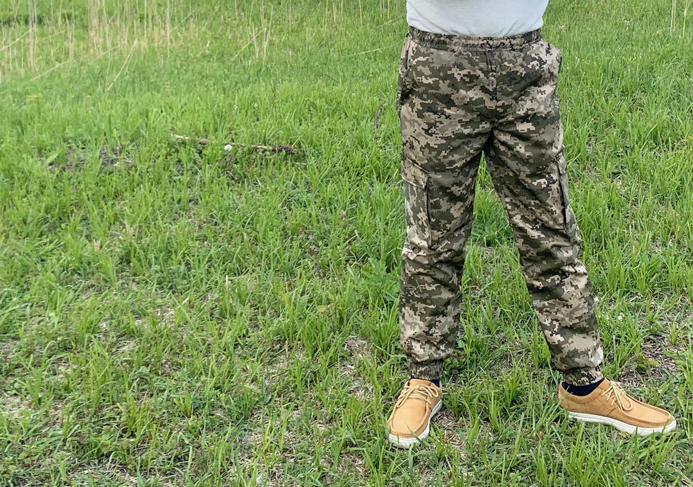 """Штаны защитные камуфляжные  Mavens """"Карго Пиксель"""", размеры 46-60"""