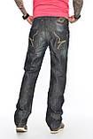 Джинсы мужские Franco Benussi FB 1242 темно-серые, фото 2