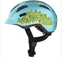 Велосипедный детский шлем ABUS SMILEY 2.0 S 45-50 Blue Croco