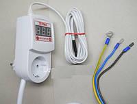 Регулятор температуры с таймером цифровой ЦТРТ-А до 125 грд
