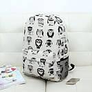 Рюкзак молодежный, модный Комиксы Сова., фото 2