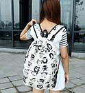 Рюкзак молодежный, модный Комиксы Сова., фото 5