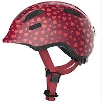 Велосипедный детский шлем ABUS SMILEY 2.0 S 45-50 Cherry Heart
