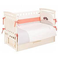 Комплект постельного белья Putti Baby Bird 6 эл.  - 17282