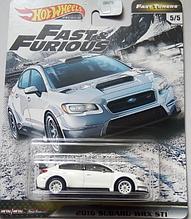 Модель Hot Wheels 2016 Subaru WRX STI
