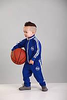Костюм детский спортивный синий с белыми полосками Point ONE