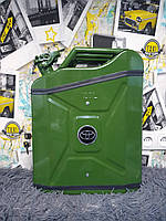Канистра-бар 20 л стандарт-подарок мужчине, зелёная