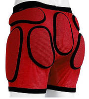 Защитные шорты Sport Gear red