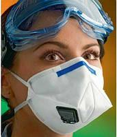 Продается кратно упаковке Респиратор с клапаном К 112 3М  ffp2  Химия Удобрения складной Защита от вирусов