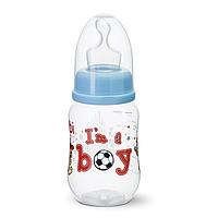 "Бутылочка для кормления детей зі стандартним горлечком, пластик, 250 мл ""I'm a boy"""