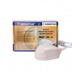 Портативний апарат для низькочастотної магнітотерапії МАГ-30-4 з таймером