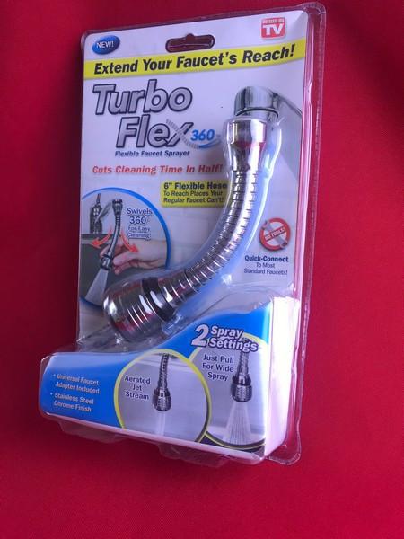 Гнучкий шланг аератор Turbo Flex 360