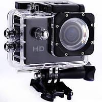 Экшн камера Action camera Sports Cam D600, с боксом и креплениями