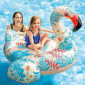 Надувной плот тропический фламинго Intex 57559