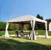Павильон садовый 3м х 4м с плотной и долговечной ткани полиэстер, стальной каркас
