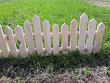 Забор декор садовий (штакетник) Забор декоративный 40 мм - штакет
