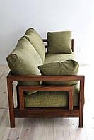 """Мягкий диван """"Ларри"""", деревянный диван, мягкий диван из дерева, мягкий деревянный диван"""