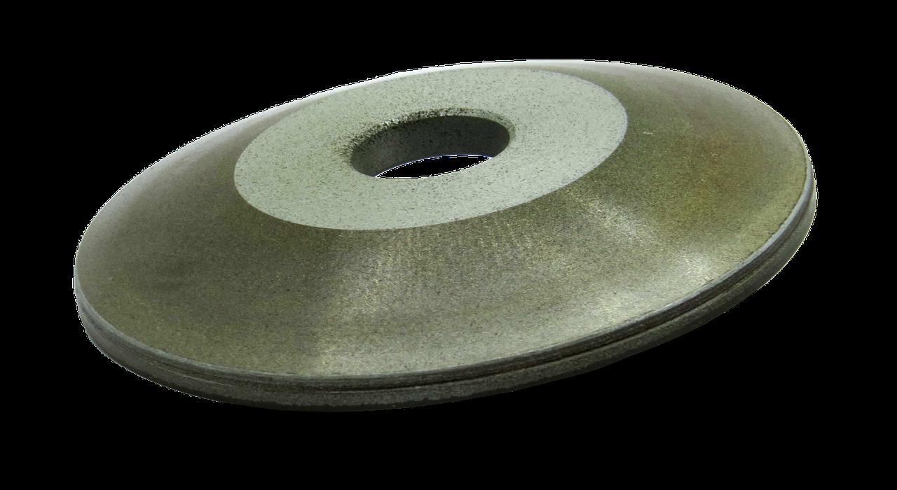 Круг алмазный заточной 12А2-20 150х18х2х10х32 125/100 АС4 В2-01 БАЗИС тарельчатый конический шлифовальный