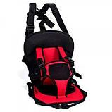 Дитяче автокрісло Multi Function Car Cushion червоне, фото 2