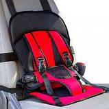 Дитяче автокрісло Multi Function Car Cushion червоне, фото 3