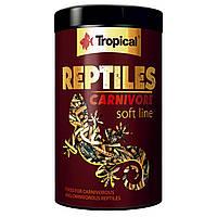 Багатокомпонентний корм для м'ясоїдних рептилій Tropical «Reptiles Carnivore» 1 л