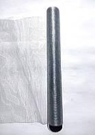 Органза серебряная для упаковки цветов металлизированная Gauze 50 см