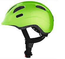 Велосипедный детский шлем ABUS SMILEY 2.0 S 45-50 Sparkling Green