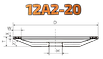 Круг алмазный тарельчатые конические 125х16х2х10х32 125\100 12А2-20 АС4 В2-01 БАЗИС, фото 6