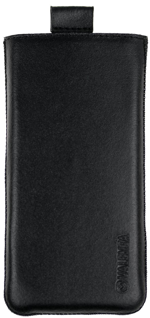 Чехол-карман Valenta для телефона Nokia 230 Черный C-564 N230, КОД: 132454