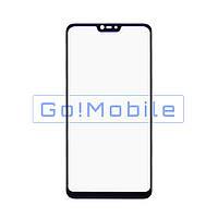 Стекло (для ремонта дисплея) Xiaomi Mi8 Lite чёрное
