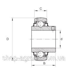 Подшипник ASACHI UC204-12 (19,05x47x19/16), фото 2