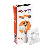 Жевательная Таблетка Бравекто 4,5-10 кг таблетка от блох и клещей для Собак - Оригинал