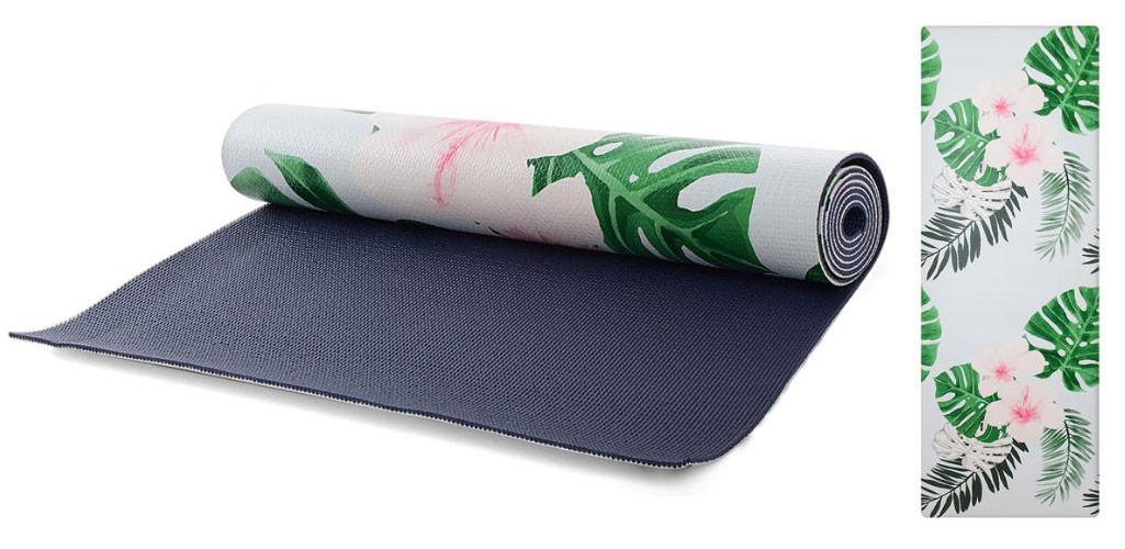 Коврик для йоги и фитнеса 173х61 см, 6мм, йогамат