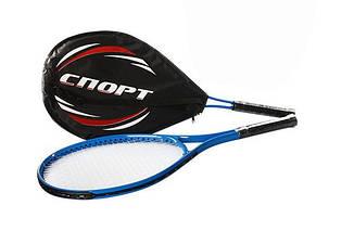 Ракетка для большого тенниса в чехле, 1шт, 27 дюйма, теннисная