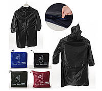 Дождевик-накидка с капюшоном и отделением для рюкзака Student Backpack