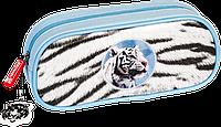Пенал Brunnen Тигр Голубой 1049109441, КОД: 1576581