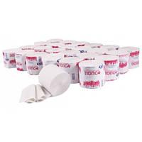 Туалетная бумага стандарт макулатурная ПОПСА Тиша [atВ901]